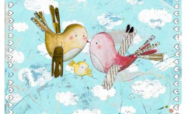 geboortekaartje-babyvogel-wolkjesachtergrond-WEB